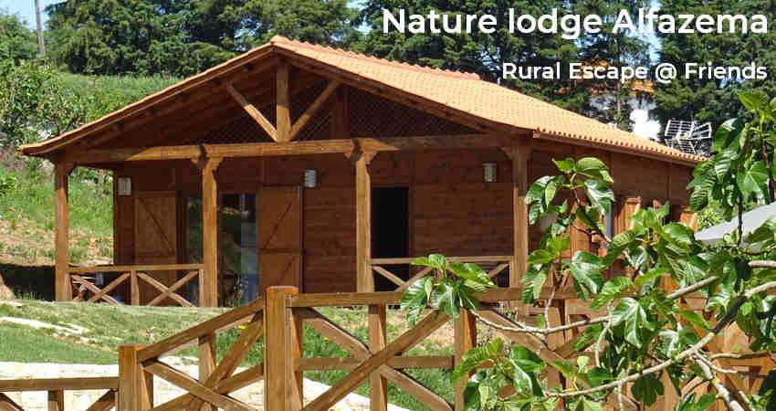 nature logde alfazema_escape rural eco glamping no Centro_Nazaré_Alcobaça